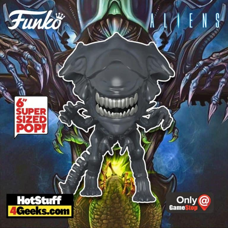 Funko POP! Movies: Aliens - Super Alien Queen 6-Inch Super Sized Funko Pop! Vinyl Figure - GameStop Exclusive
