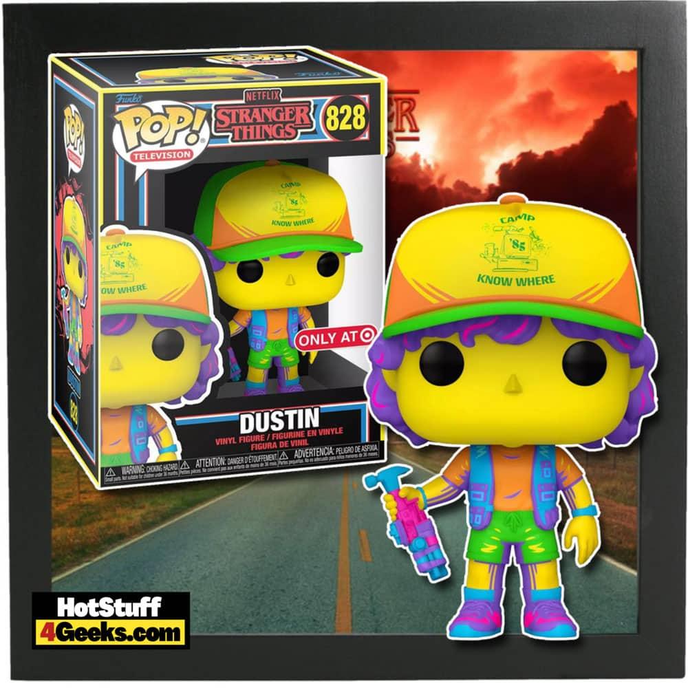 Funko POP! Stranger Things - Dustin Black Light Funko Pop! Vinyl Figure