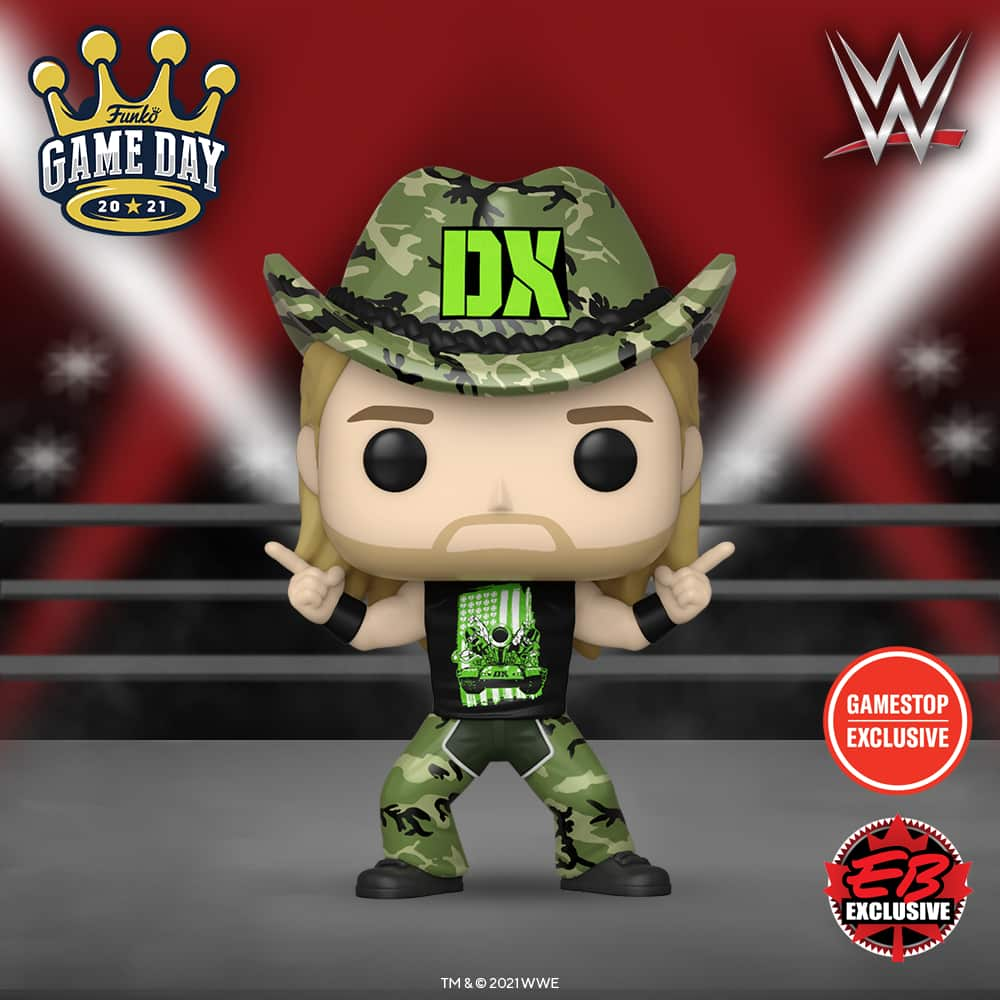 Funko POP! WWE: Survivor Series '09 - Shawn Michaels (D-Generation X) Funko Pop! Vinyl Figure - Gamestop Exclusive