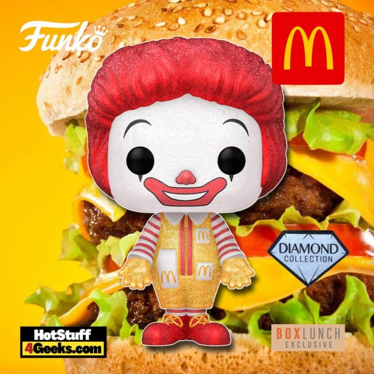 Funko Pop! Ad Icons: Ronald McDonald Diamond Glitter Funko Pop! Vinyl Figure - BoxLunch Exclusive