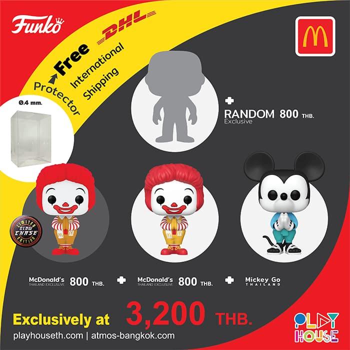 Funko Pop! Ad icons: Ronald McDonald's Thailand Exclusive With Chase Funko Pop! Vinyl Figure