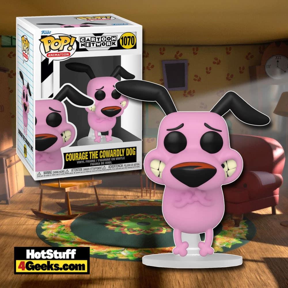 Funko Pop! Animation - Courage the Cowardly Dog Funko Pop! Vinyl Figure