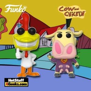 Funko Pop! Animation - Cow and Chicken: Chicken and Cow Funko Pop! Vinyl Figures
