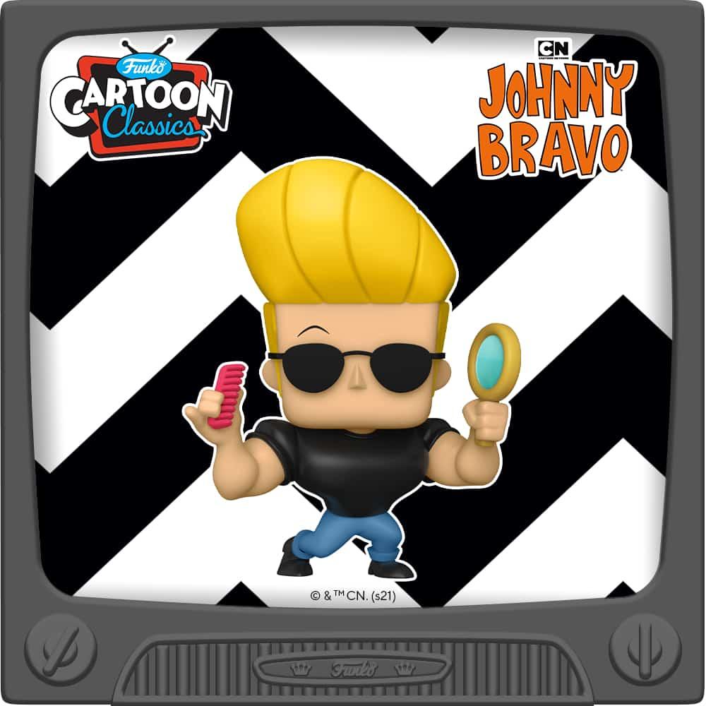 Funko Pop! Animation: Johnny Bravo with Mirror and Comb Funko Pop! Vinyl Figure