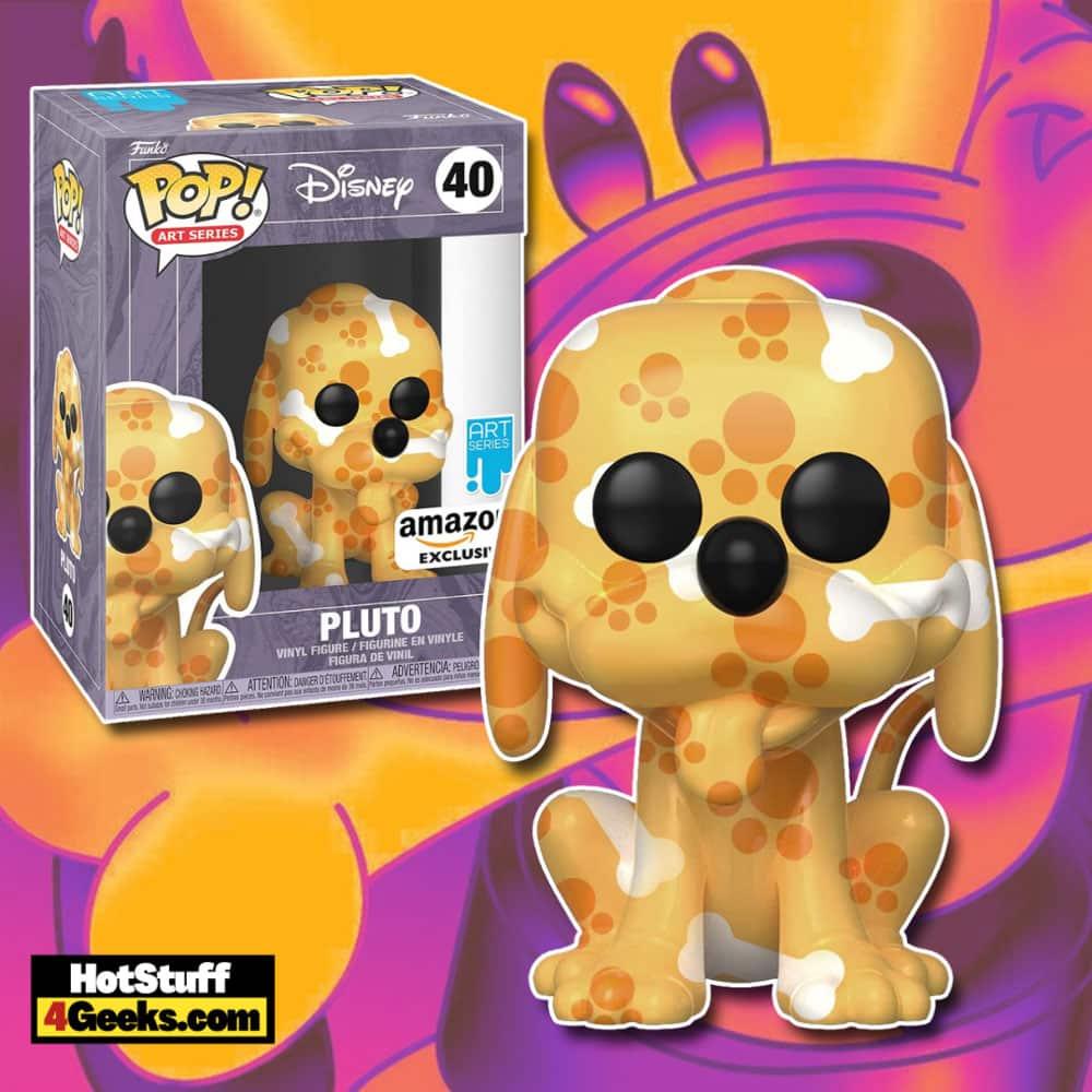 Funko Pop! Art Series: Disney Treasures of The Vault – Pluto Funko Pop! Artist Series Vinyl Figure – Amazon Exclusive