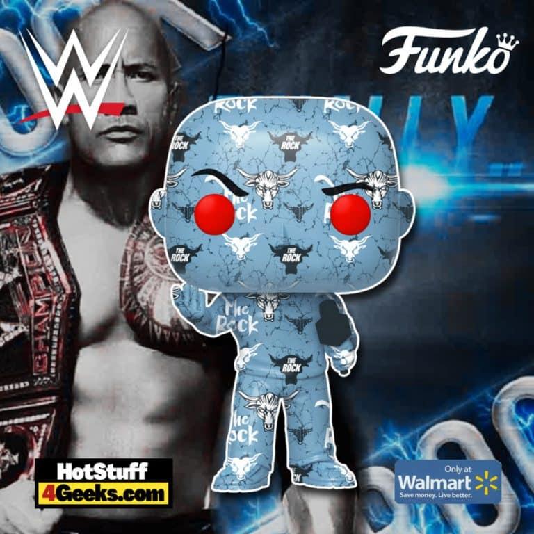 Funko Pop! Art Series: WWE - The Rock Funko Pop! Artist Series Vinyl Figure - Walmart Exclusive