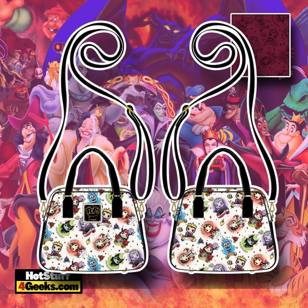 Funko Pop! By Loungefly Disney Villains Tattoo Crossbody Bag