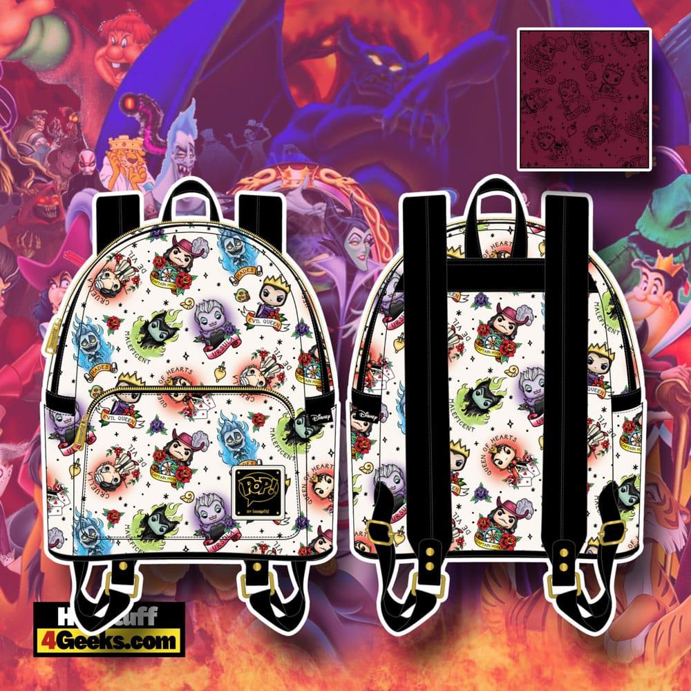 Funko Pop! By Loungefly Disney Villains Tattoo Mini Backpack