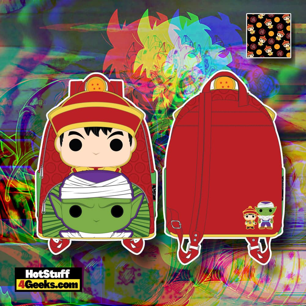 Funko Pop! By Loungefly Dragon Ball Z - Gohan and Piccolo Mini Backpack