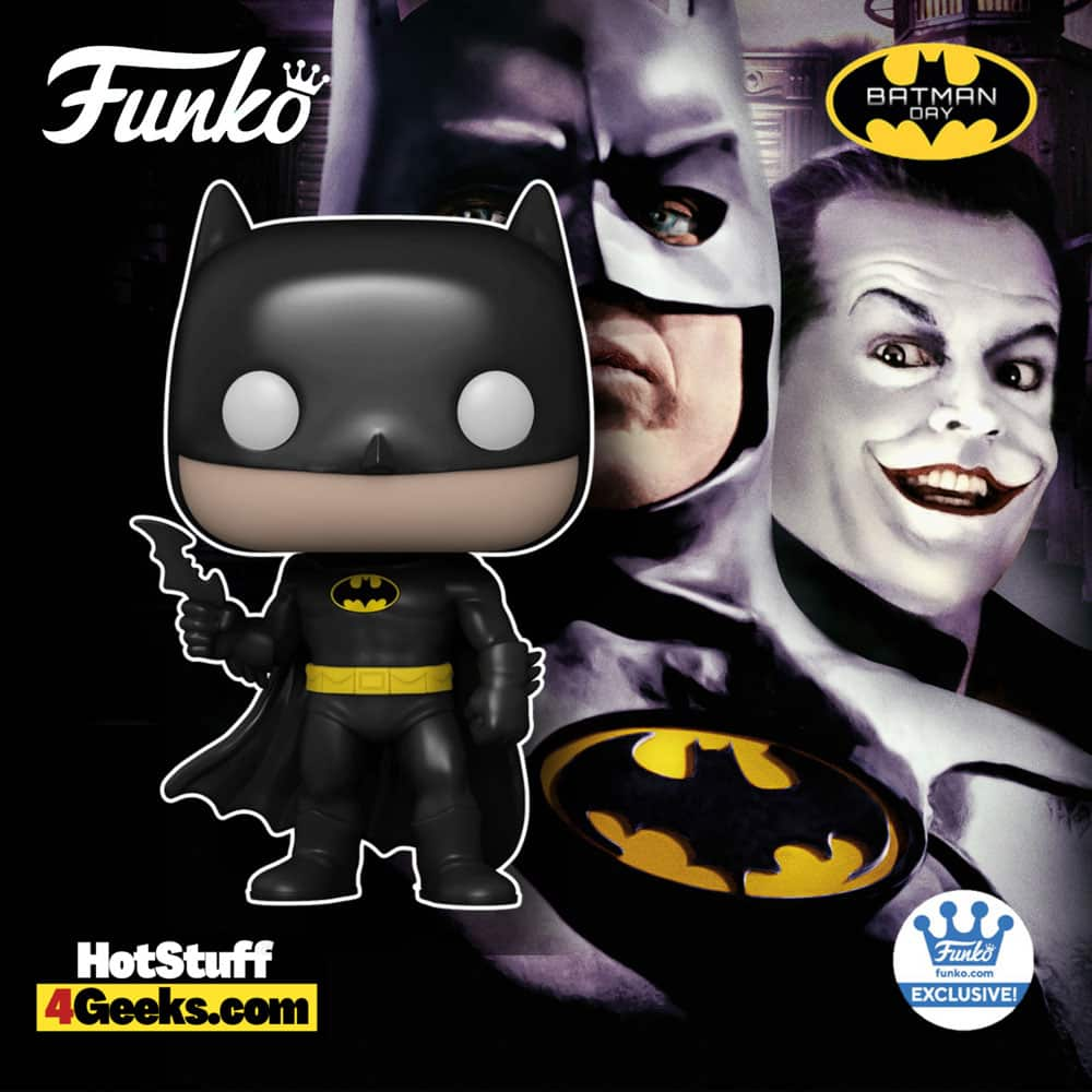 Funko Pop! DC Comics: Batman 1989 Die-Cast Funko Pop! Vinyl Figure - Funko Shop Exclusive - Batman Day 2021