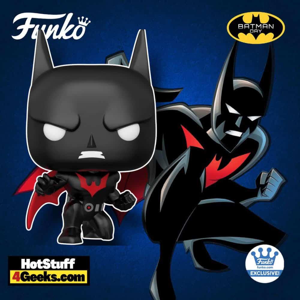 Funko Pop! DC Heroes: Batman Beyond - Batman Crouching Funko Pop! Vinyl Figure - Funko Shop Exclusive - Batman Day 2021