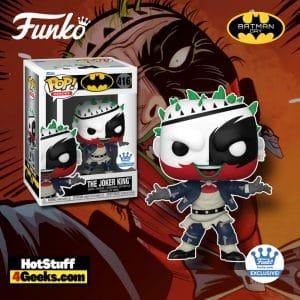 Funko Pop! DC Heroes: The Joker King Funko Pop! Vinyl Figure - Funko Shop Exclusive - Batman Day 2021