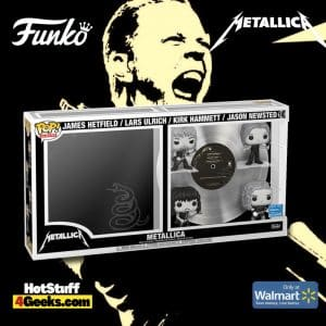 Funko Pop! Deluxe Album: Metallica - Metallica Black and White Funko Pop! Vinyl Figures - Walmart Exclusive