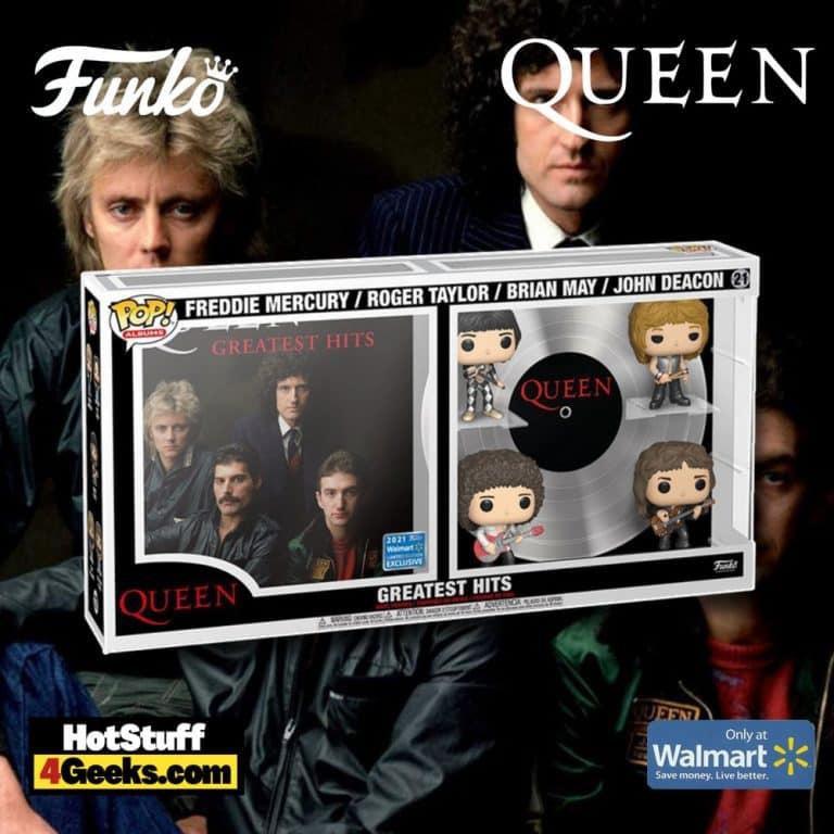 Funko Pop! Deluxe Album: Queen – Queen Greatest Hits Funko Pop! Vinyl Figures – Walmart Exclusive