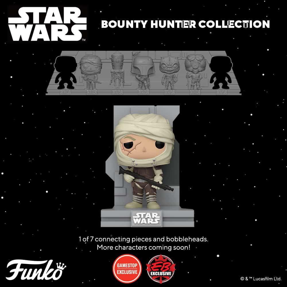 Funko Pop! Deluxe Star Wars: Bounty Hunters Collection – Dengar Funko Pop! Vinyl Figure 5 of 7 – GameStop Exclusive