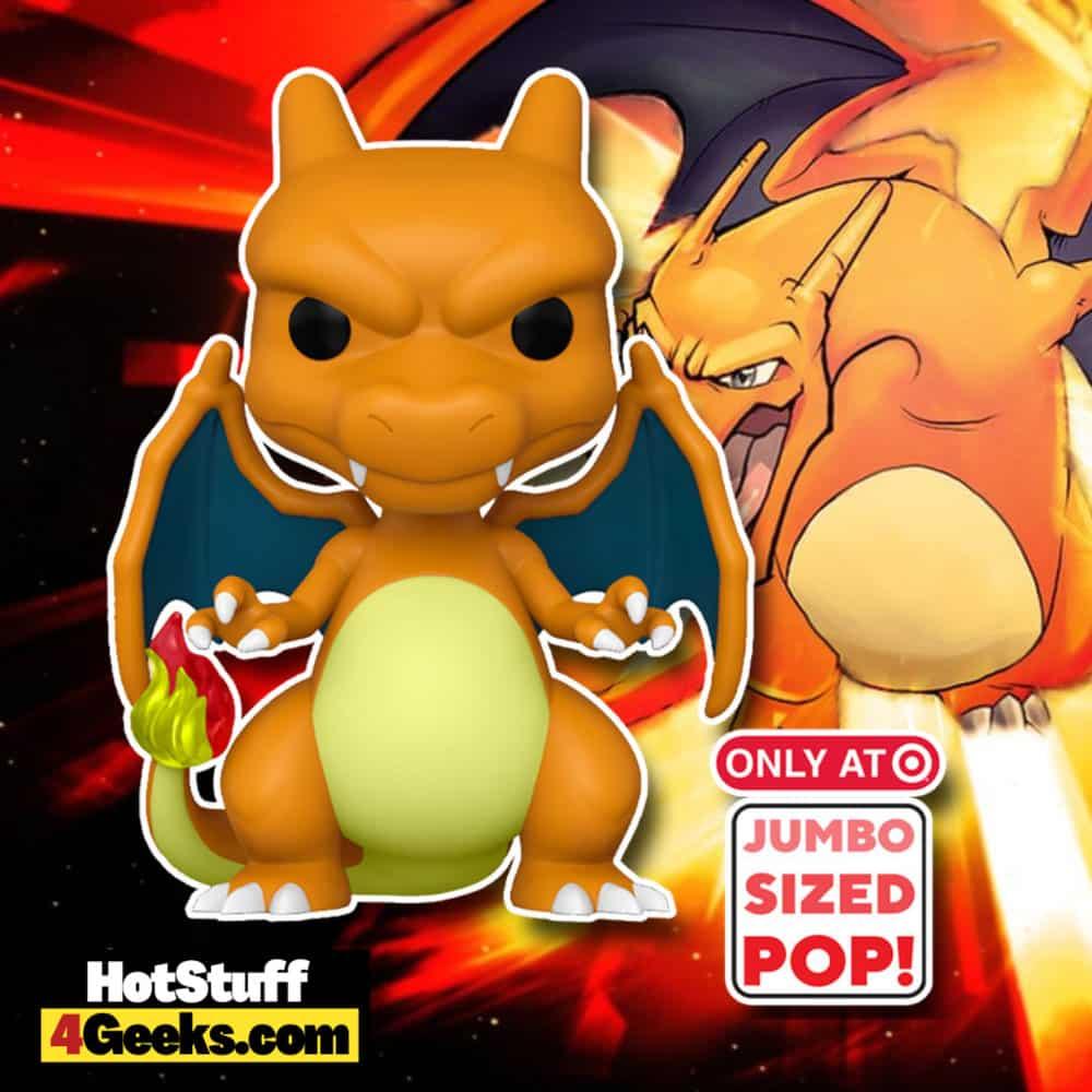 Funko Pop! Games: Pokemon - Charizard 10-Inch Super Sized Funko Pop! Vinyl Figure- Target Exclusive