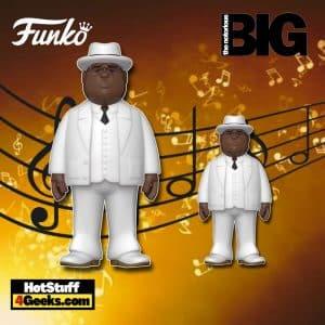 "Funko Pop! Gold: Biggie Smalls - White Suit 12"" and 5"" Funko Pop! Gold Vinyl Figures"
