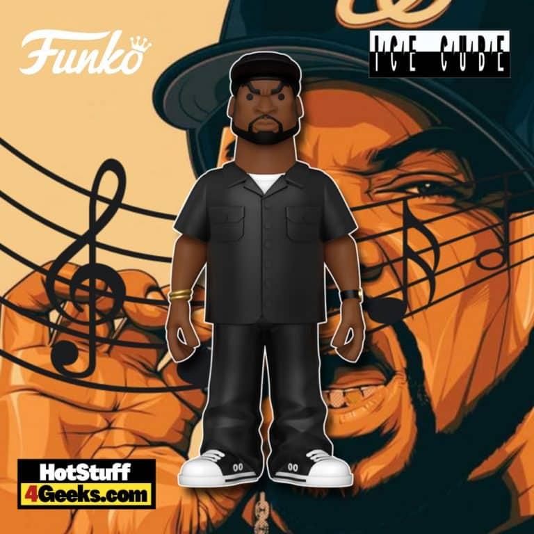 Funko Pop! Gold Ice Cube 5-inch Funko Pop! Gold Vinyl Figure