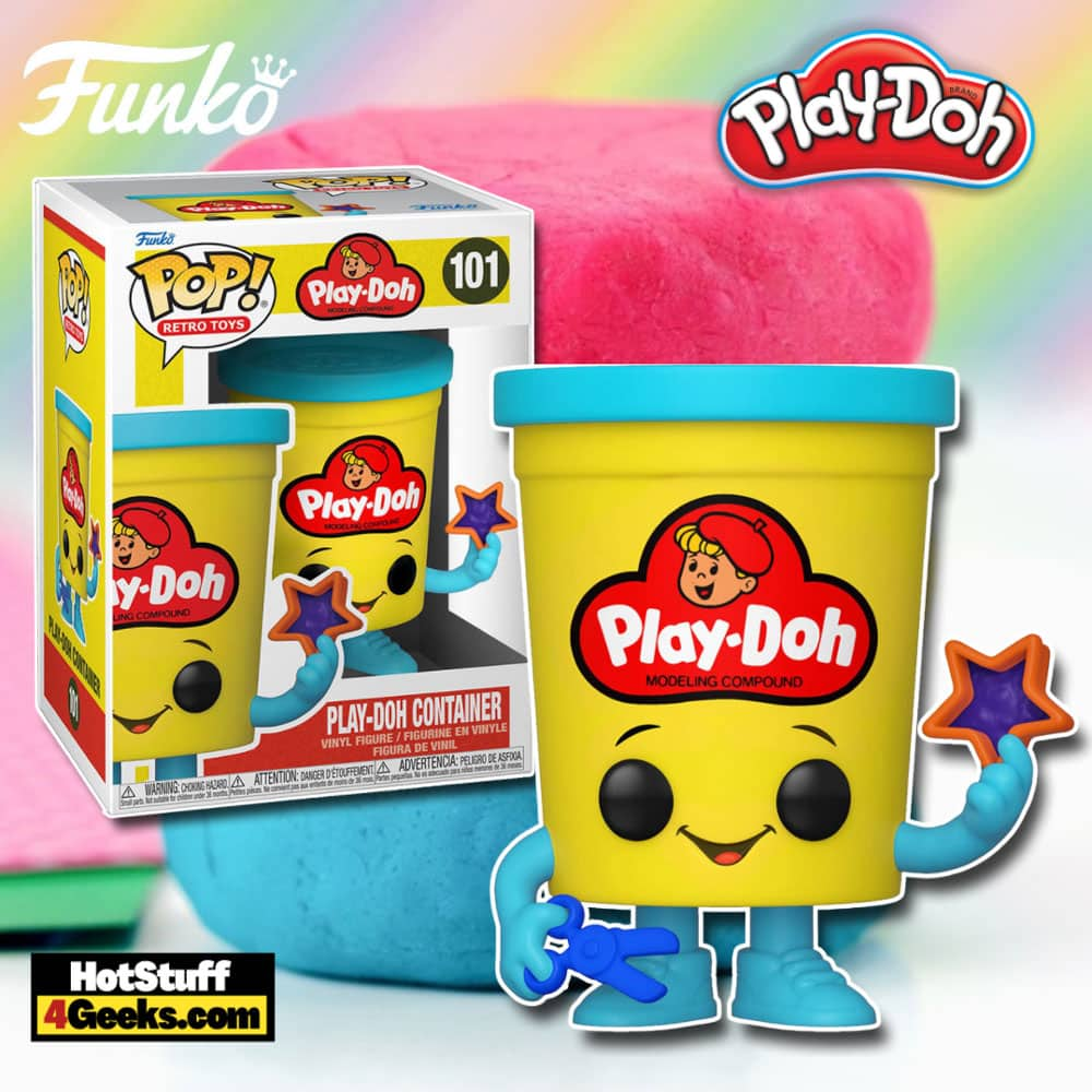 Funko Pop! Retro Toys Play-Doh Container Funko Pop! Vinyl Figure