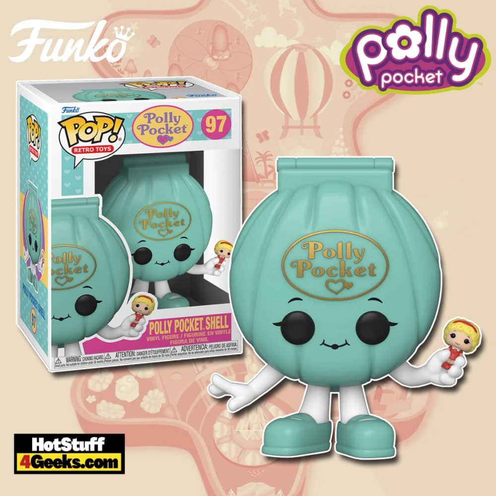 Funko Pop! Retro Toys Polly Pocket - Polly Pocket Shell Funko Pop! Vinyl Figure