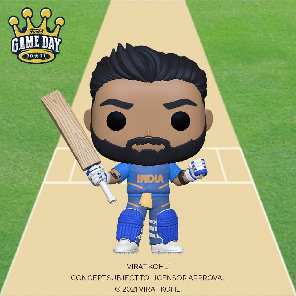 Funko Pop! Sports: Cricket - Virat Kohli Funko Pop! Vinyl Figure - Amazon Exclusive