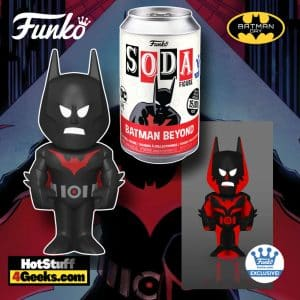 Funko Vinyl Soda: DC Heroes: Batman Beyond Funko Soda Vinyl Figure - Funko Shop Exclusive - Batman Day 2021