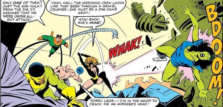 Going up against She-Hulk in the Secret Wars