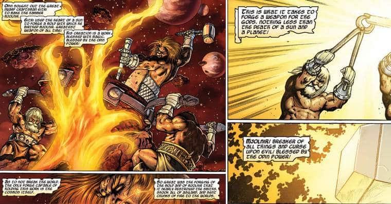 How Was Mjölnir Created