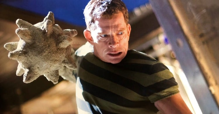 Both for the effects and for the great dramatic arc, the Sandman is one of the successes of Spider-Man 3.