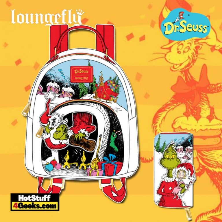 Loungefly Dr. Seuss Christmas The Grinch October 2021 Pre-Orders (Mini Backpack and Wallet)