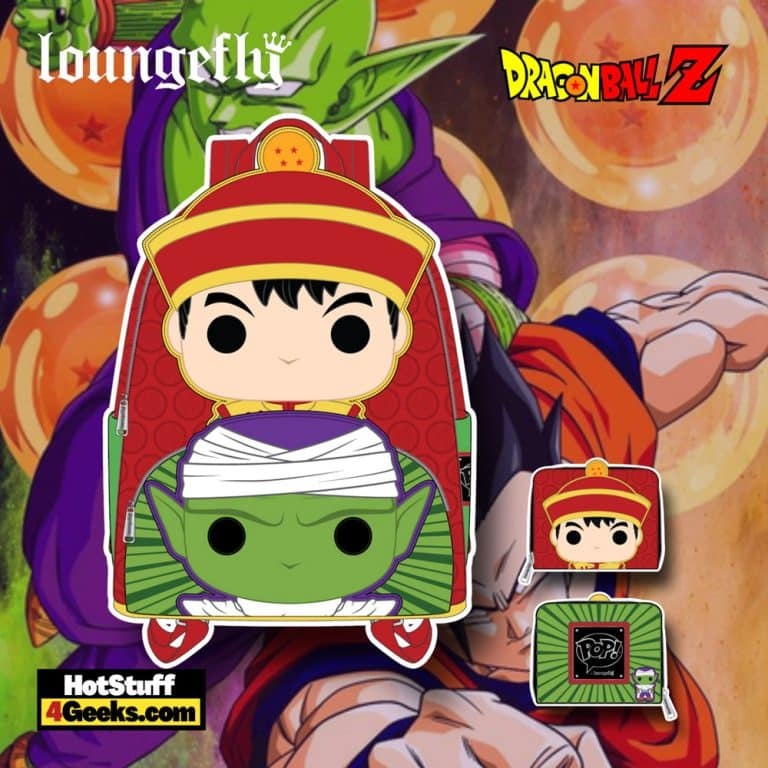 Loungefly Dragon Ball Z - Gohan and Piccolo Mini Backpack and Wallet - November 2021 Pre-Orders