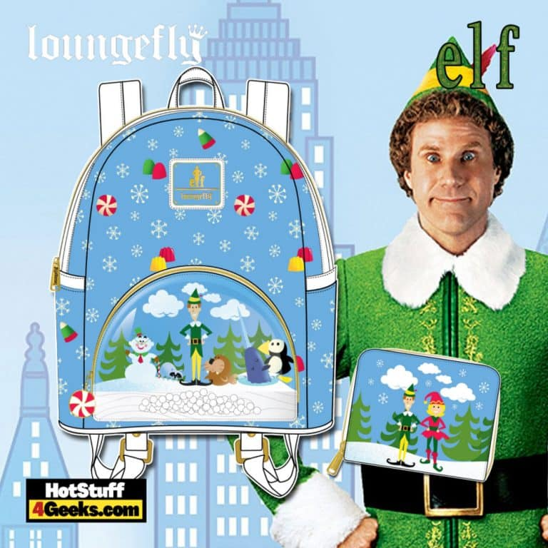 Loungefly Elf Buddy and Friends October 2021 Pre-Orders (Mini Backpack, and Wallet)