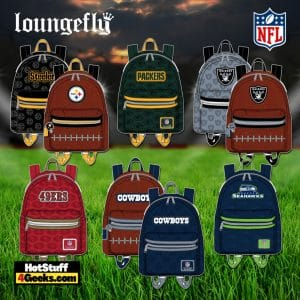 Loungefly NFL Mini Backpacks and Wallets October 2021 Pre-Orders