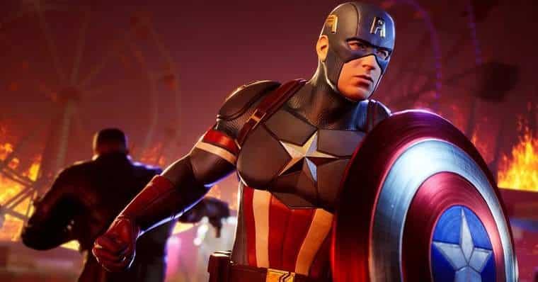 Marvel's Midnight Suns Captain America