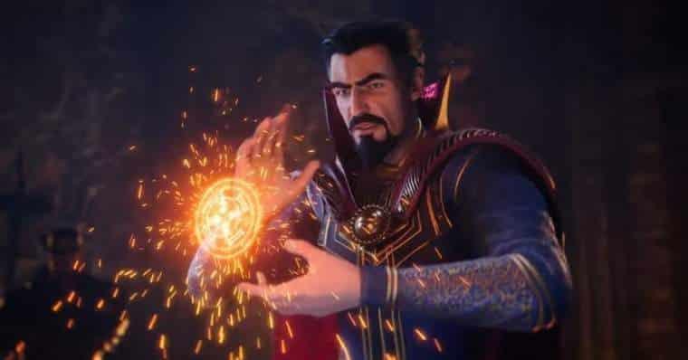 Marvel's Midnight Suns Doctor Strange