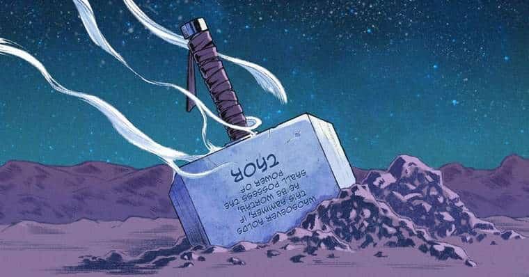 Mjölnir First Appearance in The Comics