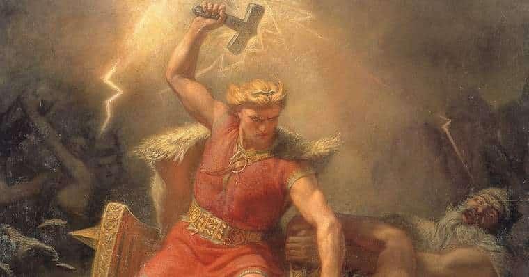 Mjölnir in Mythology