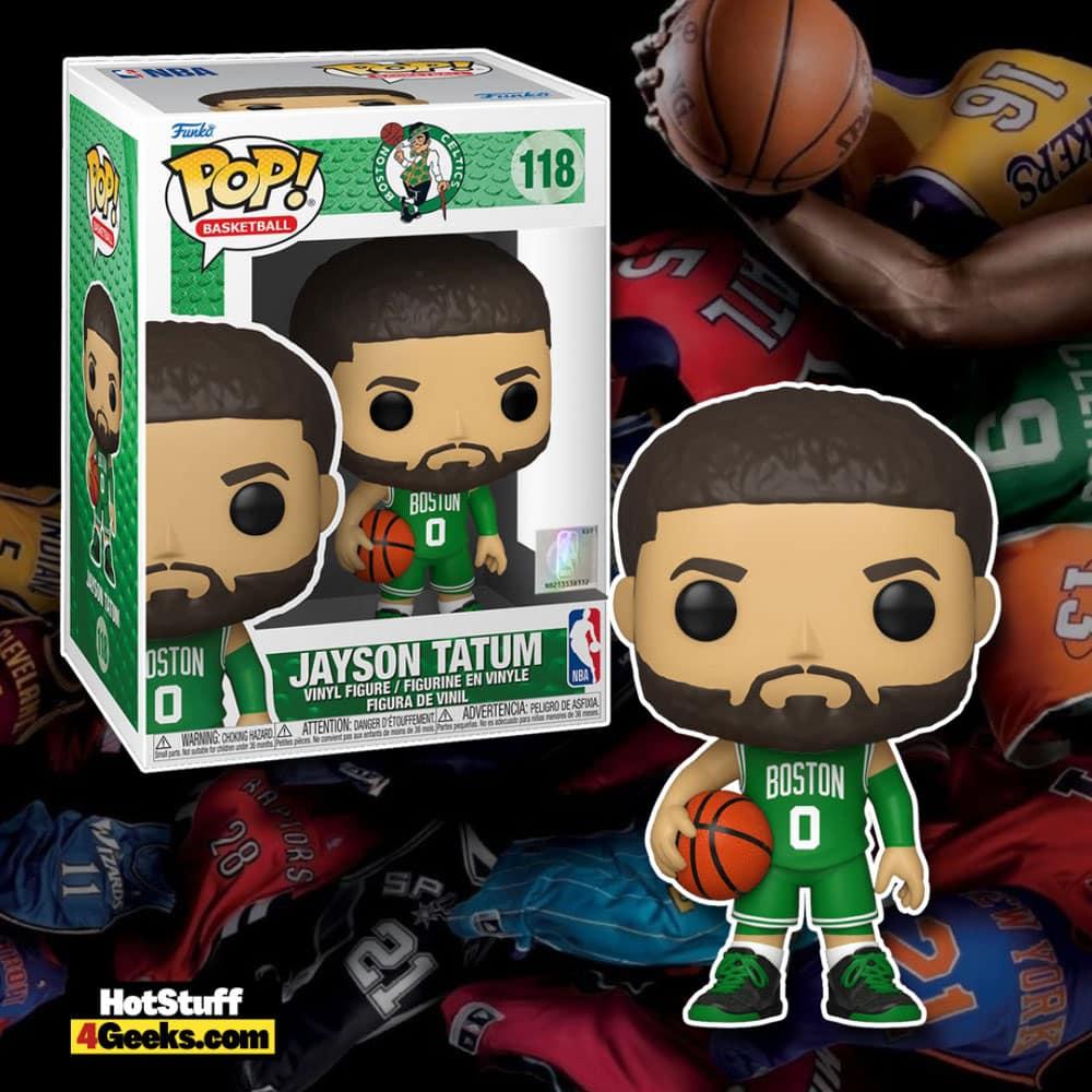 NBA Celtics - Jayson Tatum (Green Jersey) Funko Pop! Vinyl Figure