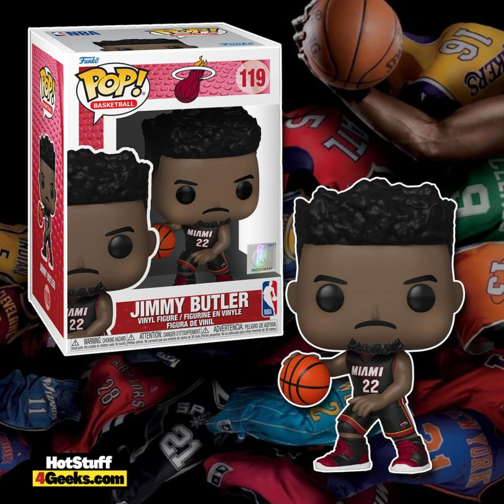NBA Heat - Jimmy Butler (Black Jersey) Funko Pop! Vinyl Figure