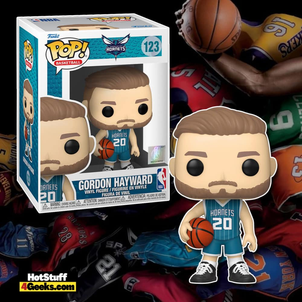 NBA Hornets - Gordon Hayward (Teal Jersey) Funko Pop! Vinyl Figure