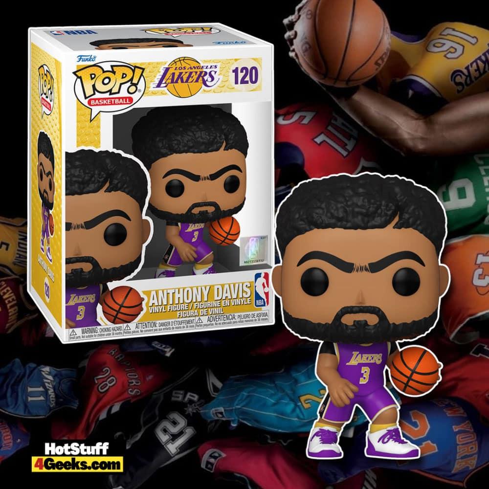 NBA Lakers - Anthony Davis (Purple Jersey) Funko Pop! Vinyl Figure