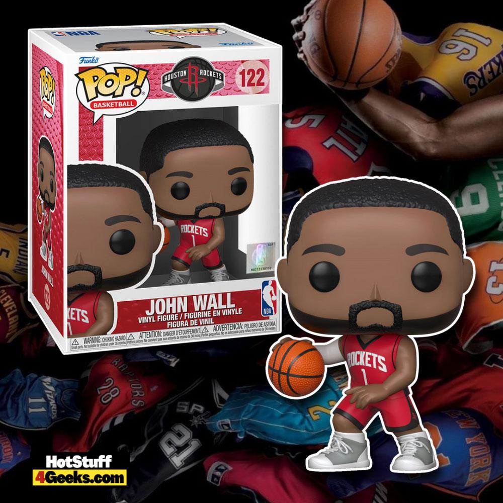 NBA Rockets - John Wall (Red Jersey) Funko Pop! Vinyl Figure