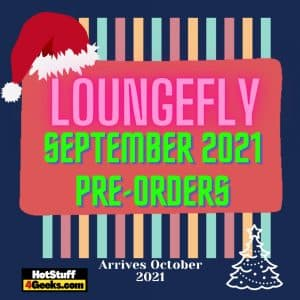 NEW Loungefly October 2021 Pre Orders List - For September 2021