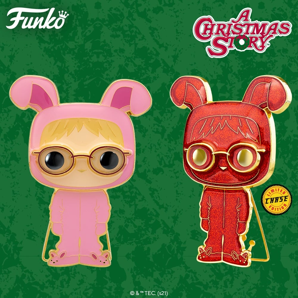 Pop! Pins: A Christmas Story - Ralphie Bunny Suit with Chase Large Enamel Funko Pop! Pin