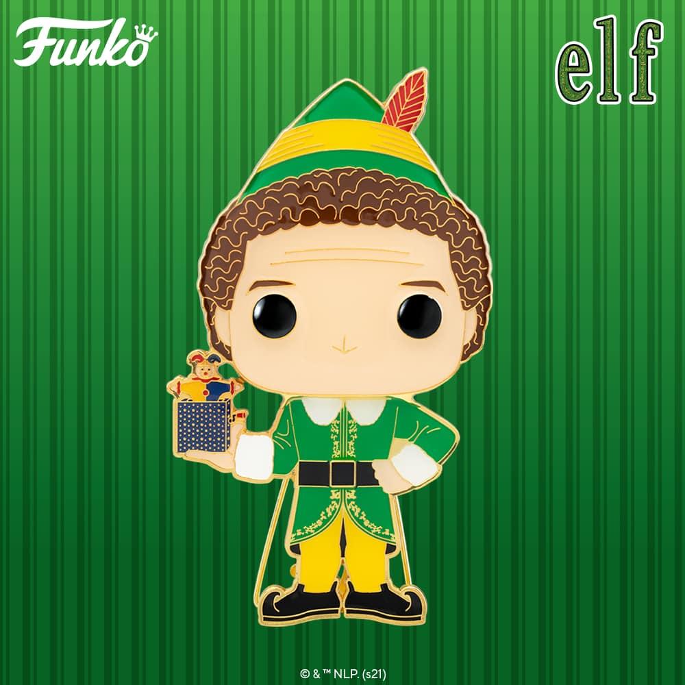 Pop! Pins: Elf - Buddy Large Enamel Funko Pop! Pin