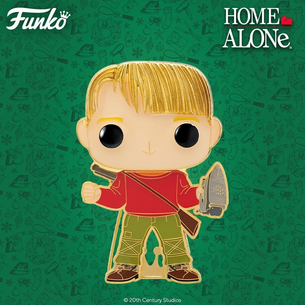 Pop! Pins: Home Alone - Kevin Large Enamel Funko Pop! Pin