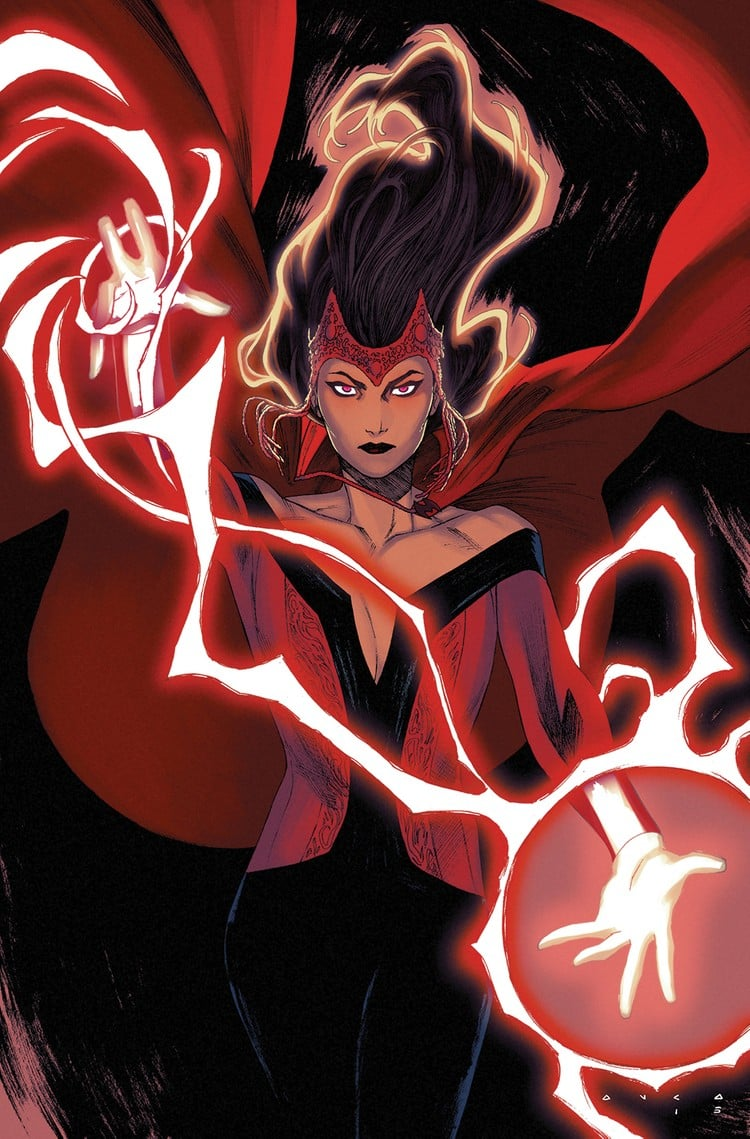 With a wide range of powers, the Scarlet Witch is one of Marvel's most powerful heroines