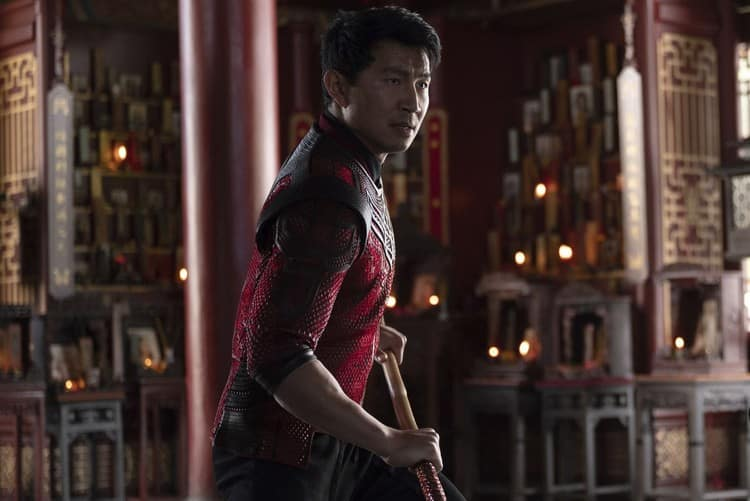 Simu Liu plays Shang-Chi in the new Marvel movie
