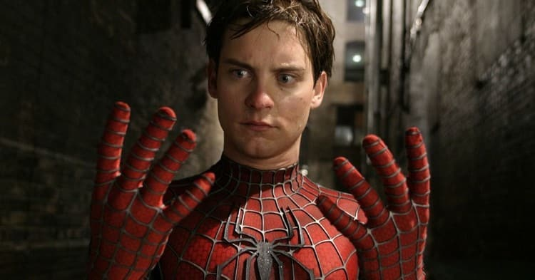 Tobey Maguire lived Spider-Man in Sam Raimi's trilogy of films.