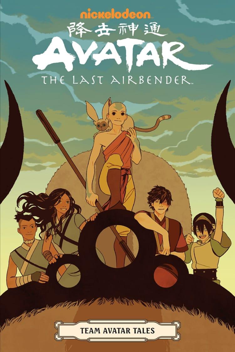 Team Avatar Tales Cover